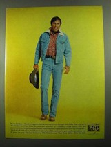 1976 Lee Storm Jacket and Jeans Ad - Storm Striders - $14.99