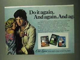 1976 Old Spice Pocket Cologne Flasks Ad - Do It Again - $14.99