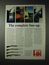 1990 Benelli Shotgun Ad - M1 Super 90; Black Eagle - $14.99