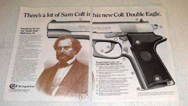1991 Colt Double Eagle MKII/Series 90 Pistol Ad - $14.99