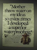 1991 Columbia Omni-Quad Parka Ad - My Ideas - $14.99