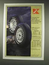 1991 Kmart Uniroyal Laredo Tires Ad - Handle Outdoors - $14.99