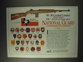 1991 Iver Johnson National Guard M1 .30 Carbine Ad - $14.99