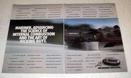 1991 Mariner Outboard Motors Ad - Art of Kicking Butt - $14.99