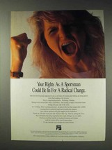 1991 National Shooting Sports Foundation Ad - Radical - $14.99