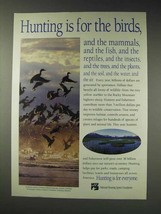 1991 National Shooting Sports Foundation Ad - For Birds - $14.99