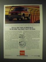 1992 GMC Yukon GT Truck Ad - Perfecting It - $14.99