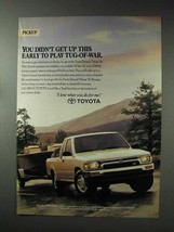 1993 Toyota Xtracab Deluxe V6 Truck Ad - Tug-of-War - $14.99