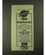 1903 Chicago & North-Western, Union Pacific Railways Ad - $14.99