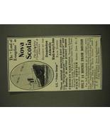 1907 Dominion Atlantic Railway Line Ad - Nova Scotia - $14.99