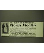 1903 Dominion Atlantic Railway Ad - Nova Scotia - $14.99