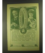 1903 Lifebuoy Soap Ad - The Doctor and Household - $14.99