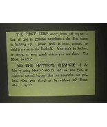 1909 Sapolio Soap Ad - The First Step Away - $14.99
