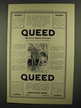 1911 Queed Novel Ad - Henry Sydnor Harrison - $14.99