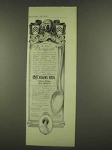 1912 1847 Rogers Bros. Cromwell Spoon Ad - $14.99