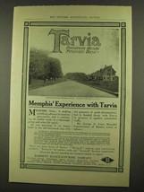 1912 Barrett Tarvia Ad - Memphis' Experience With - $14.99