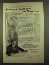 1912 Bauer Sanatogen Ad - Makes Good the Nerve Loss - $14.99