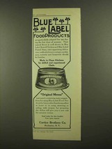 1908 Curtice Brothers Blue Label Boned Chicken Ad - $14.99