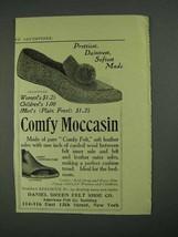 1908 Daniel Green Comfy Moccasin Ad - Prettiest - $14.99
