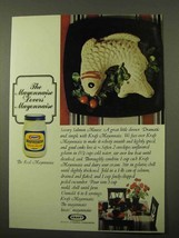 1971 Kraft Mayonnaise Ad - Savory Salmon Mousse - $14.99