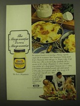 1971 Kraft Mayonnaise Ad - Lazy Eggs Mornay - $14.99