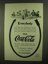 1909 Coca-Cola Soda Ad - Everybody - $14.99