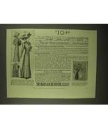 1909 Sears, Roebuck Ladies Tailored Suit Ad - $14.99