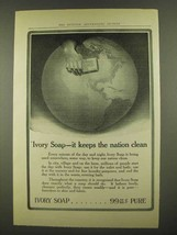 1912 Ivory Soap Ad - It Keeps The Nation Clean - $14.99