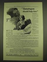 1913 Bauer Sanatogen Ad - Should Help Him - $14.99