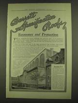 1913 Barrett Specifiation Roofs Ad - Economy - $14.99