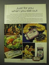 1972 Kraft Grape Jelly Ad - When You Eat Out - $14.99