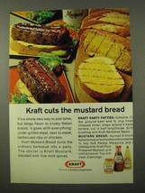 1972 Kraft Mustard and Barbecue Sauce Ad - $14.99