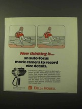 1971 Bell & Howell Filmosound Model 379 Movie Camera Ad - $14.99