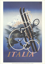 A.M. Cassandre-Italia-1998 Poster - $140.25