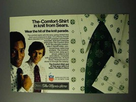 1972 Sears The-Comfort-Shirt Ad - In Knit - $14.99