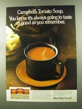 1973 Campbell's Tomato Soup Ad - Taste as Good - $14.99