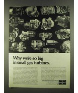 1972 Garrett Small Gas Turbines Ad - We're So Big - $14.99