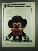 1972 Greyhound Corporation Ad - Walt Disney World - $14.99