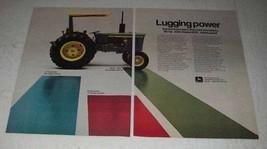 1973 John Deere 2030 Tractor Ad - Lugging Power - $14.99