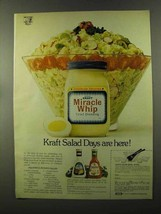 1973 Kraft Miracle Whip Ad - Plentiul Potato Salad - $14.99