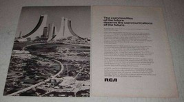 1973 RCA CATV Cable Technology Ad - Future - $14.99
