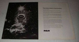 1973 RCA Electronics Ad - The New Dawn of Accuracy - $14.99