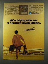 1972 Libbey-Owens-Ford Glass Ad - Unsung Athletes - $14.99