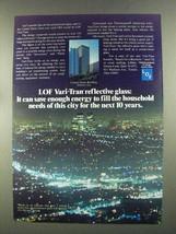 1972 Libbey-Owens-Ford Vari-Tran Reflective Glass Ad - $14.99