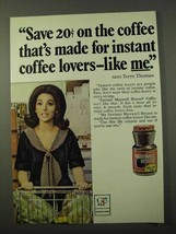 1972 Maxwell House Coffee Ad - Terre Thomas - $14.99