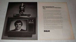 1972 RCA Television Ad - New Dimension - $14.99