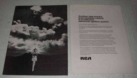 1972 RCA Solid-State Technology Ad - Another Step - $14.99