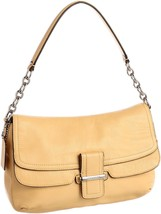 NWT COACH MADISON LEATHER FLAP SHOULDER BAG CAN... - $178.51