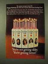 1973 Clairol Loving Care Hair Color Ad - Over 25 - $14.99