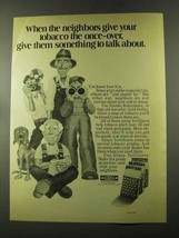 1973 Grace Nurish Robertsons Gold Dollar Fertilizer Ad - $14.99